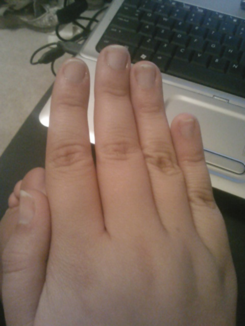 5-7 day nail growth | Life of a Night Owl