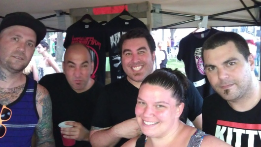 My self with Alien Ant Farm